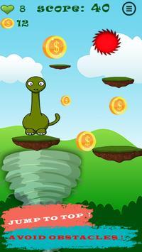 Dinosaur Jump Climb screenshot 1