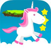 Little Pony Unicorn Jumping icon