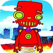 Robot Steel Jump icon