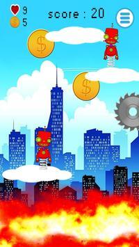 Robot Steel Jump screenshot 1