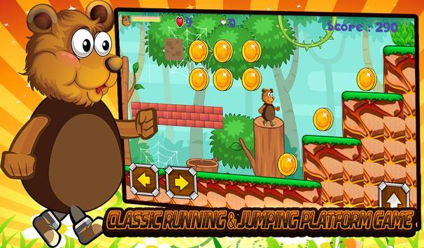 jungle Bears Run Game poster
