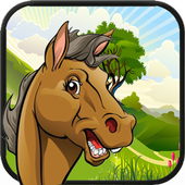 Jungle Horse Running icon