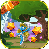 Smurf World run adventure icon