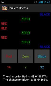 Roulette Cheats Free screenshot 2