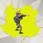 Justin Army Shooting Game icon