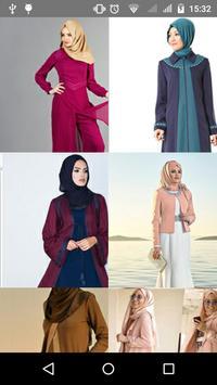 احدث موديلات فساتين حجاب 2018. poster