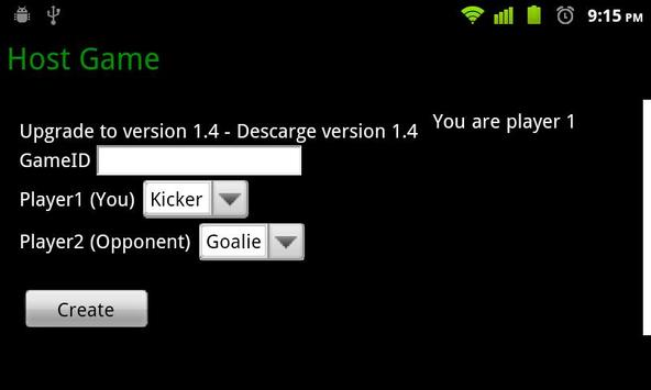 Soccer Penalties Online apk screenshot