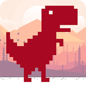The Jumping Dino icon