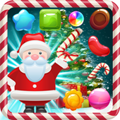 Candy Christmas Gift of Santa Clause icon