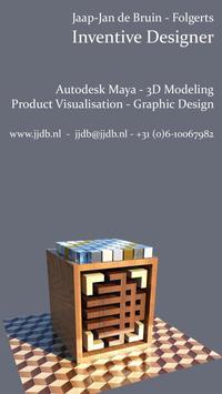 JJDB Portfolio poster