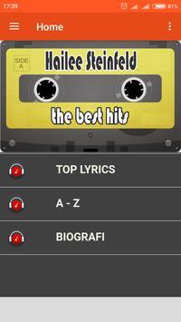 Best hits list 0f Hailee.steinfeld screenshot 1