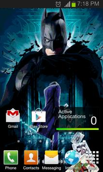 Batman 3D Live Wallpaper Poster Apk Screenshot