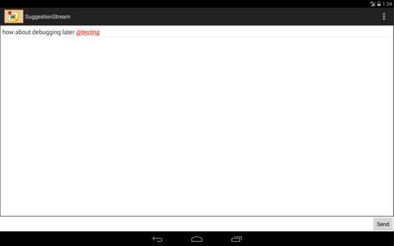 SuggestionStream screenshot 4