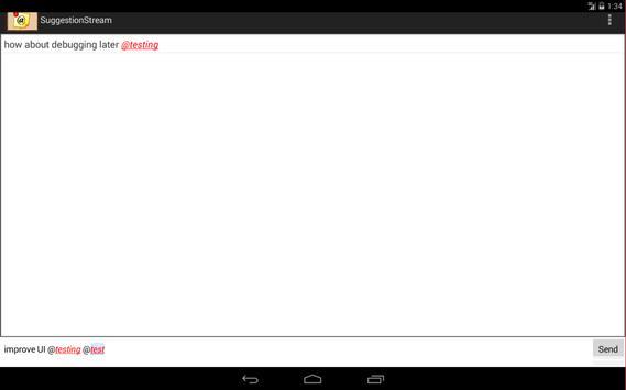 SuggestionStream screenshot 5