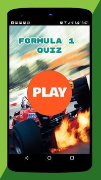 Quiz Formula one poster