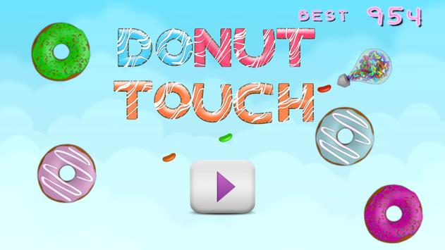 Donut Touch poster