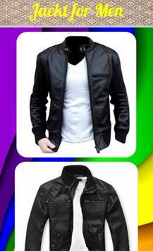 Men's Jacket Design apk screenshot