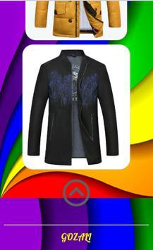 Men's Jacket Design screenshot 3