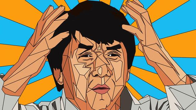 Jackie Chan Wallpaper art poster