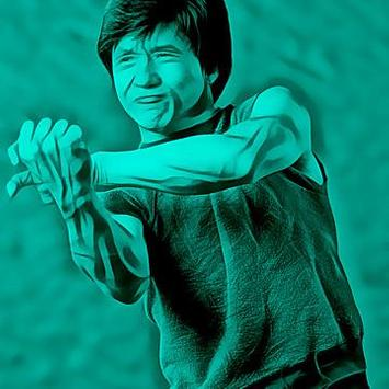 Jackie Chan Wallpaper art screenshot 1