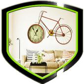Clock Wall Design idea icon