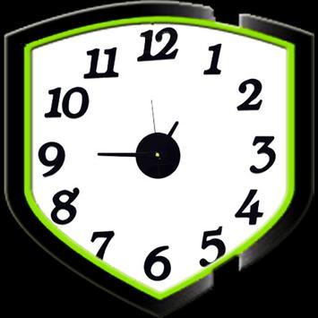 Clock Wall Design idea apk screenshot