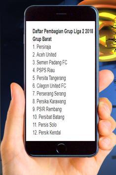 Jadwal Pertandingan Liga 2 Musim 2018 Putaran 2 screenshot 4