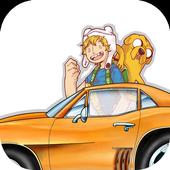 Jake Vs Finn Car Racing Adventure icon