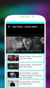 James Arthur Songs and Videos screenshot 6
