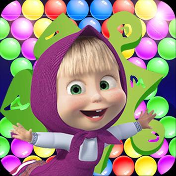 Bubble Shooter Masha poster