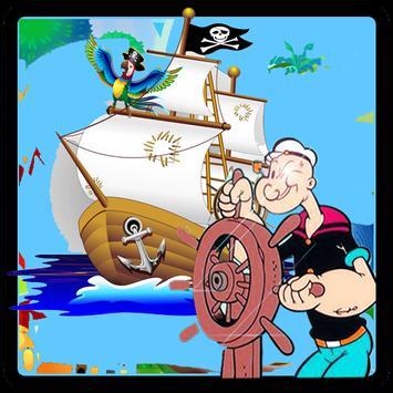 Popaye The Sailor Sdventure screenshot 1