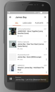 James bay Songs apk screenshot