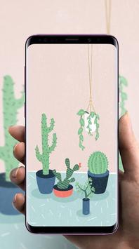 Cactus Wallpaper poster