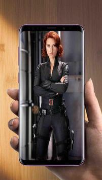 Black Widow Wallpaper Avengers apk screenshot