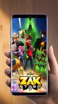 Zak Storm Wallpaper poster