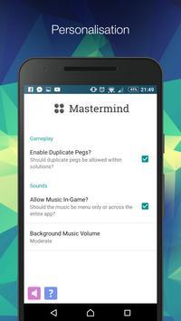 Mastermind - Speedy Edition (Unreleased) apk screenshot