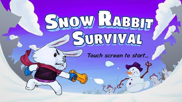 Snow Rabbit Survival poster