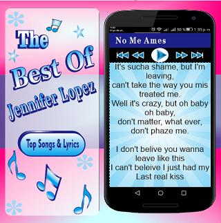 Jennifer Loped - No Me Ames for Android - APK Download