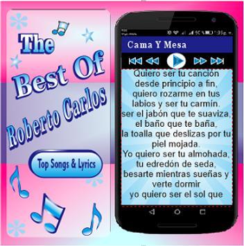 Roberto carlos cama y mesa apk download free music for Cama y mesa roberto carlos letra