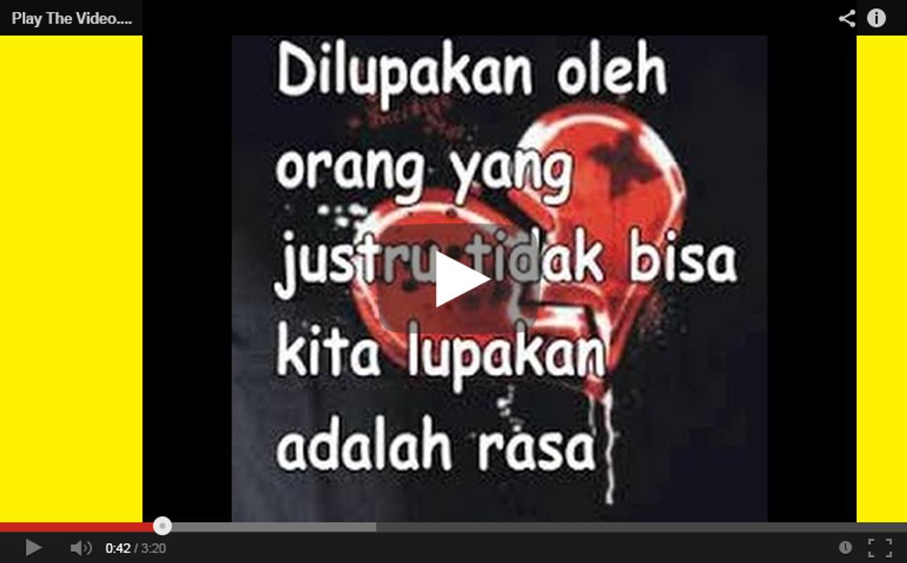 Kata Kata Galau Patah Hati For Android Apk Download