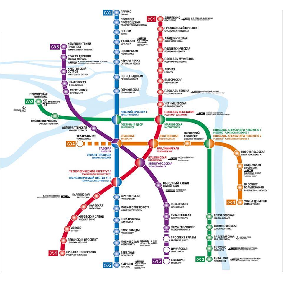 Carte Metro Saint Petersburg Map For Android Apk Download
