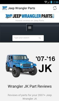 Jeep Wrangler Parts poster