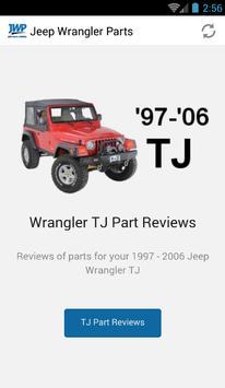 Jeep Wrangler Parts apk screenshot