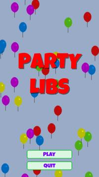 Party Libs poster