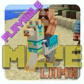 Playable Lama Add-on MCPE icon