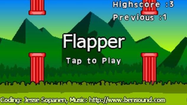 Flapper poster