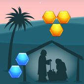 Jesus Games For Kids Free Hexa icon