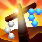 Jesus Wallpaper 3d Hexa Block icon