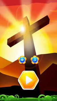 Jesus Wallpaper 3d Hexa Block poster