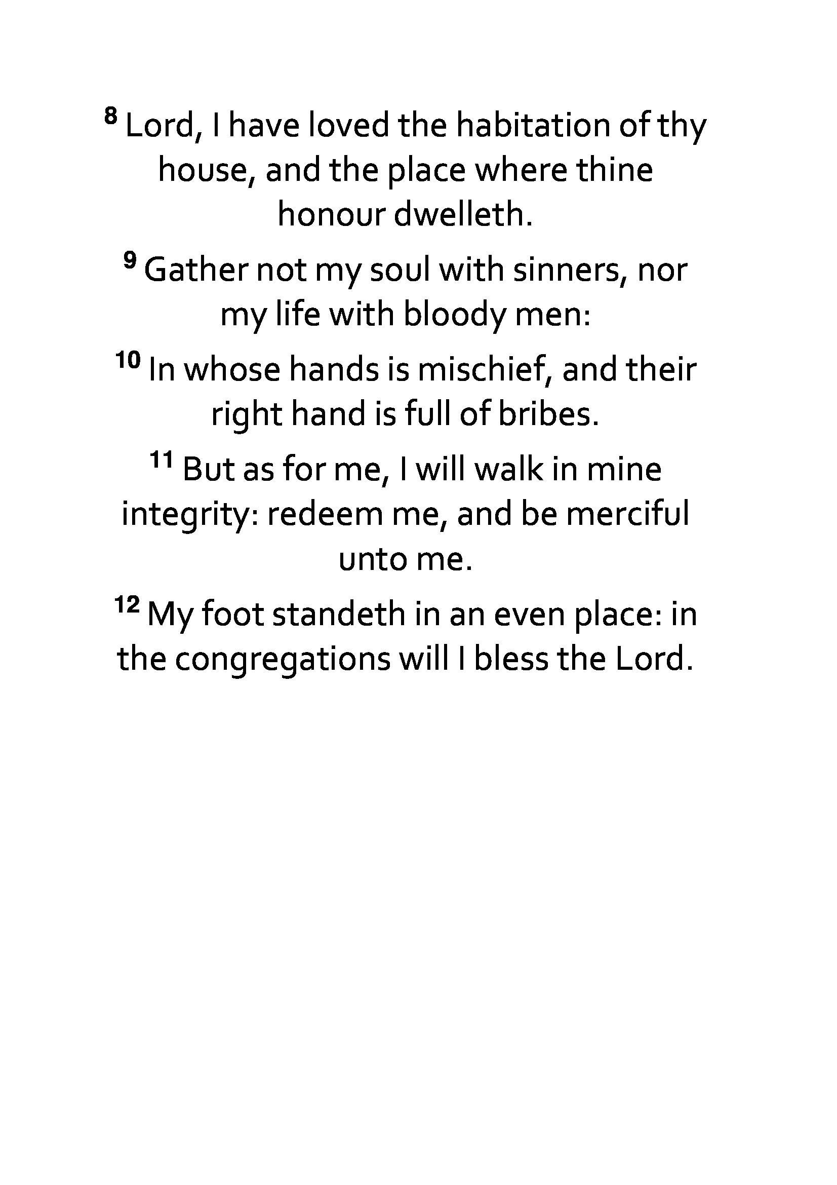 Psalms 26 for Android - APK Download